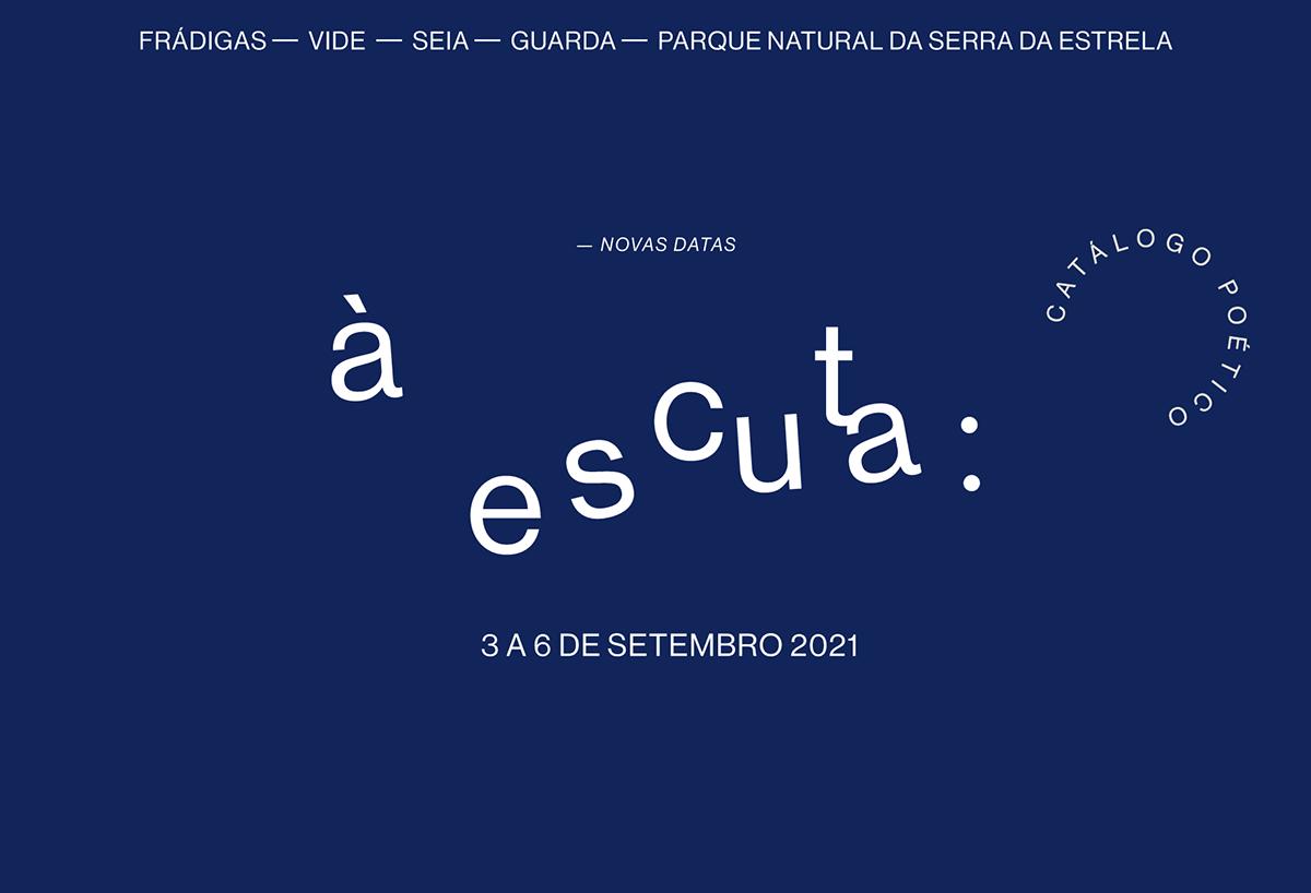 À escuta - evento performativo na aldeia de Frádigas, Serra da Estrela, em Setembro de 2021